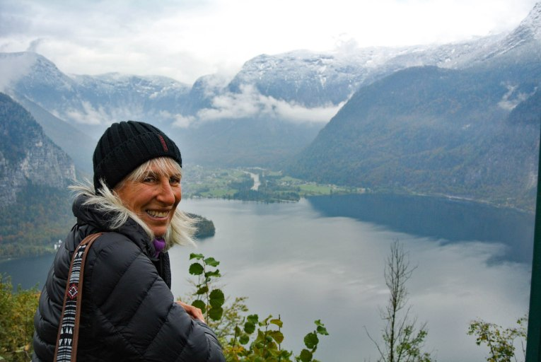 Marci happy in the mountains!