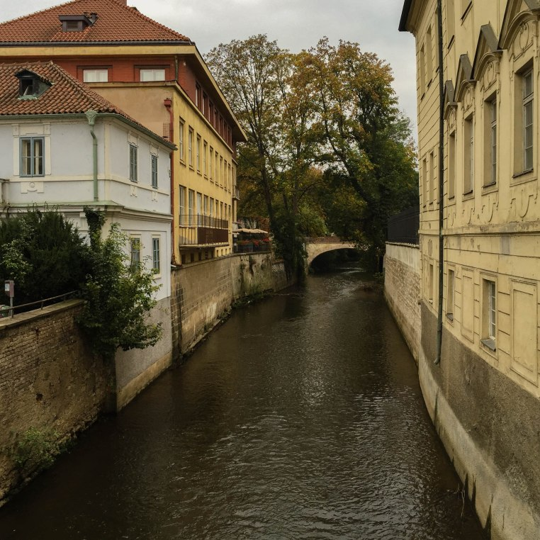 One of Prague's side canals.