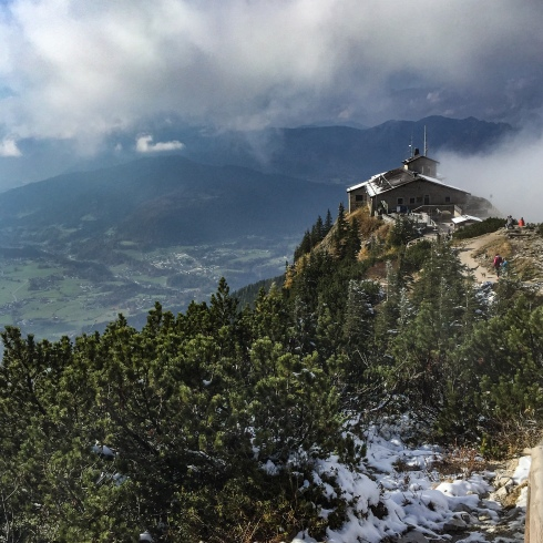 Eagle's Nest was a tea house built by Martin Borman for Hitler's 50th birthday. It is said Hitler visited only a handful of times.